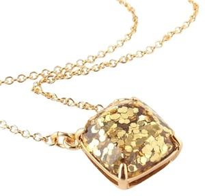 Kate Spade NEW Kate Spade New York Gold Glitter Necklace 18
