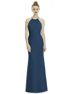 Lela Rose Sophia Blue Lr239 Dress
