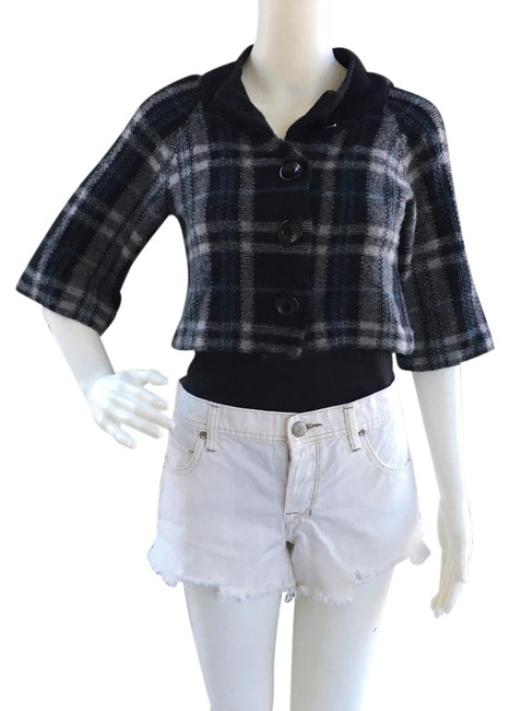 Preload https://img-static.tradesy.com/item/20948331/navy-white-plaid-cropped-sweater-cardigan-size-6-s-0-1-650-650.jpg