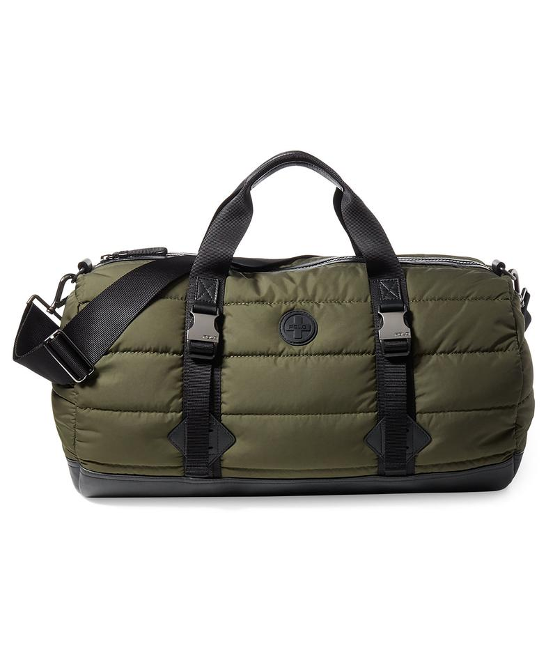 4c2e8dfc9bf6 Polo Ralph Lauren Alpine Duffel In Olive Gym Green Nylon Weekend ...