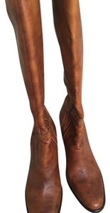 J.Crew brown/tan Boots