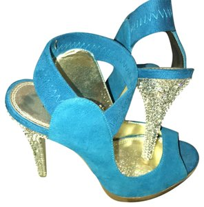 Bakers Teal Blue Sandals