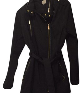 Michael Kors black with gold zippers Jacket