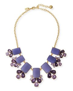 Kate Spade New York Glitzy Spritz Statement Necklace