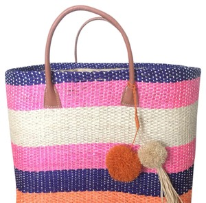 Anthropologie multi color Beach Bag