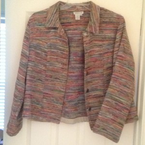 Coldwater Creek multi colored Jacket
