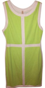 Bailey 44 short dress Lime Green and White on Tradesy