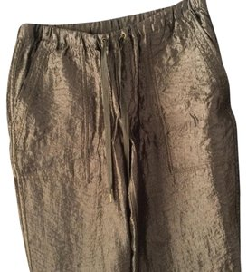 J.Crew Capris Army Green (metallic)