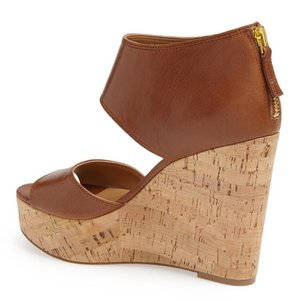 Nine West light brown Wedges