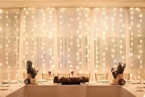 1000 Beautiful Warm White Backdrop Lights