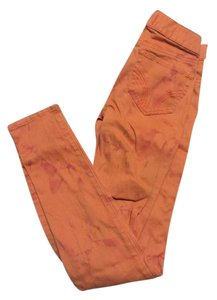 Hollister Skinny Pants Orange