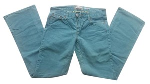 Old Navy Corduroy Boot Stretch Boot Cut Pants Aqua Blue