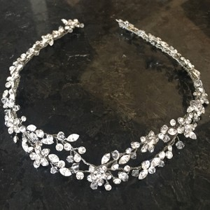 Crystal Floral Vine Headpiece