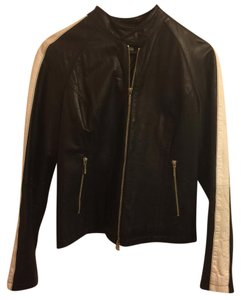 Tommy Hilfiger black Leather Jacket