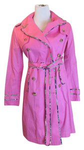 Lilly Pulitzer Designer.trench Trench Coat