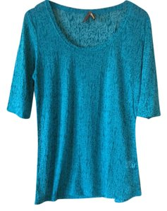Stetson T Shirt Turquoise