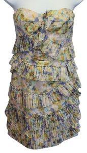 Cynthia Steffe short dress Multi Strapless on Tradesy