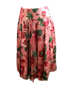 Talbots Pink Floral New With Tags Skirt