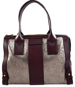 Fossil Tote in Pewter