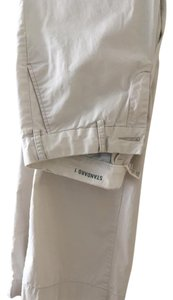 G 1 Basic Goods Boot Cut Pants off white