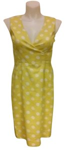 Evan Picone short dress Yellow on Tradesy