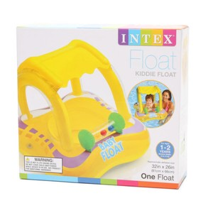 Other Intex Yellow Kiddie Baby Float 32in X 26in Ages 1-2 Years