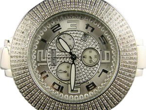 Joe Rodeo JOJO/JOE RODEO/AQUA MASTER 6 ROW DIAMOND WATCH 5.10 CT