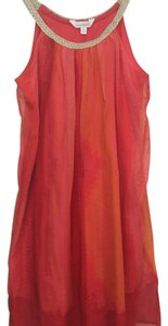 Charming Charlie short dress pink and orange on Tradesy