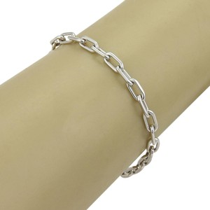 Cartier #16420 Cartier Spartacus Link Oval Chain Bracelet in 18k White Gold