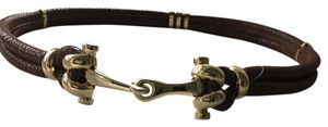 J.McLaughlin Antique Gold Hook Clasp Belt 24041L1