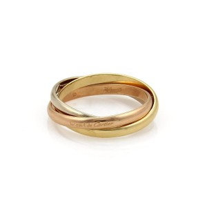Cartier Cartier TRINITY 18k Gold 2.5mm Rolling Band Ring Size EU 62 - US 10