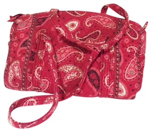 Vera Bradley red Travel Bag