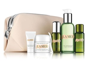 La Mer 5PCs La Mer The Radiance Discovery Collection Serum Cream Lotion etc