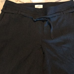 Ann Taylor LOFT Wide Leg Pants black/Dark Grey