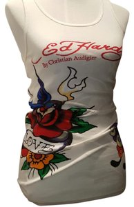 Ed Hardy Top White