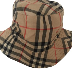 f7eb69897f6 Burberry Multicolor Burberry Reversible House Check Bucket Hat