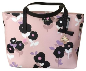 Kate Spade Tote in Au Natural/Pink