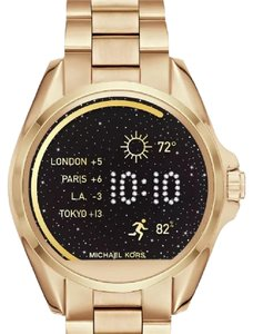Michael Kors Michael Kors Access 45mm Digital Bradshaw Gold-Tone Stainless Steel Smartwatch