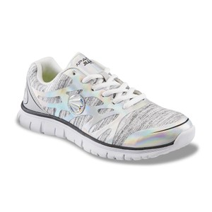 Jillian Michaels Running Memory Foam Sparkle Comfortable Grey Athletic