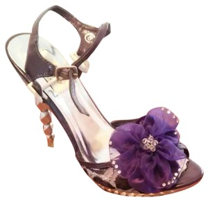 Summer Rio Bolaro Greater One Heels In Purple Wedding Shoes