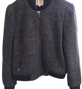 Ann Taylor LOFT Black Tweed Jacket