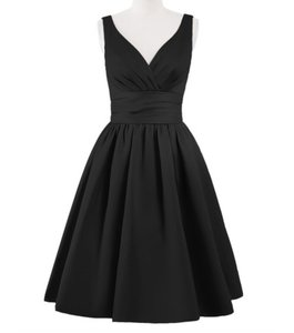 Azazie Black Alexandra Dress