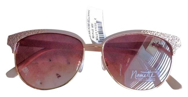 Item - Nude Blush and Rose Gold Sunglasses