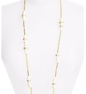 Kate Spade Kate Spade ' Purely Pearly ' Long Pearl Station Necklace