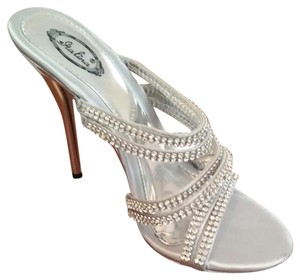 Summer Rio Maria Dress Sandal In Silver Wedding Shoes