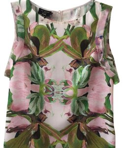 Ted Baker Top Pink/green