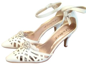 Refresh Telsa 01 In White Wedding Shoes