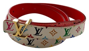 Louis Vuitton LV INITIALES Multicolored belt