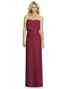 After Six Burgundy 6761 Dress