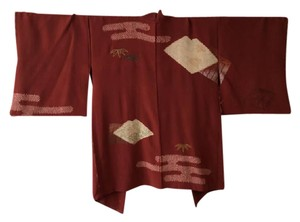 Other Kimono Robe Wall Decor Top Red